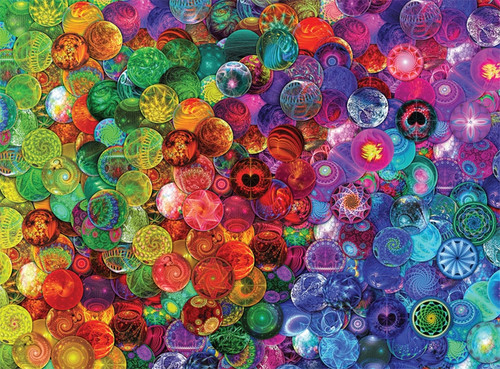 Aimee Stewart: Cosmic Marbles - 1000pc Jigsaw Puzzle by Buffalo Games