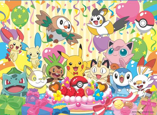 Pokemon Celebration - 100pc Jigsaw Puzzle by Buffalo Games
