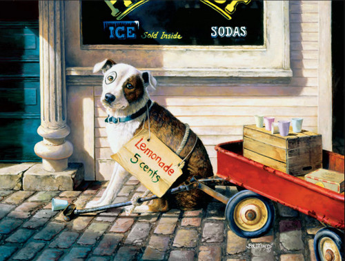 Dog Days: For the Love of Pete - 750pc Jigsaw Puzzle by Buffalo Games