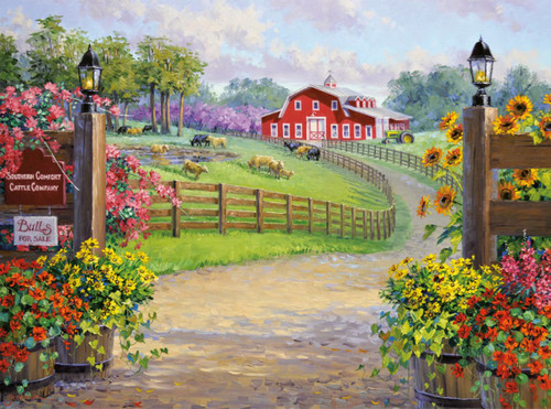 A Southern Warm Welcome - 1000pc Jigsaw Puzzle by Buffalo Games