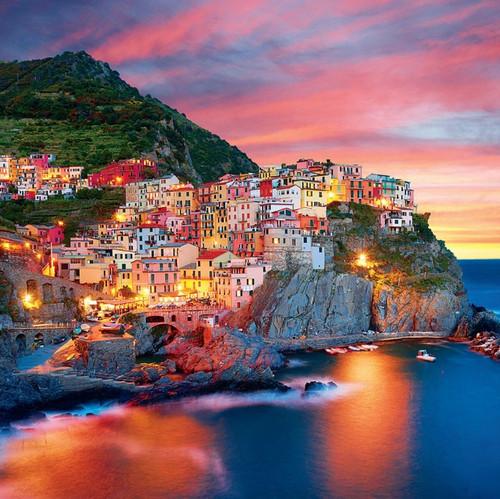 Amalfi Coast - 300pc Large Format Jigsaw Puzzle by Buffalo Games