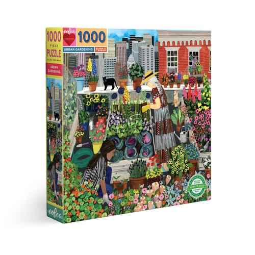 Urban Gardening - 1000pc Square Jigsaw Puzzle by eeBoo