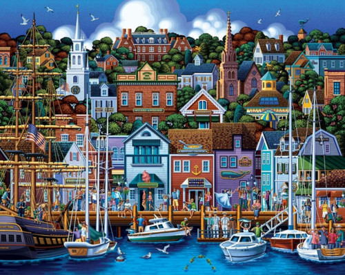 Newport, RI - 500pc Jigsaw Puzzle by Dowdle