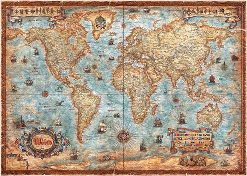 The World - 2000pc Jigsaw Puzzle By Heye