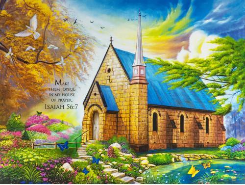 Serenity Church II - 1000pc Jigsaw Puzzle by Cra-Z-Art