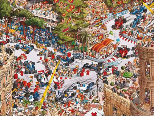 Loup: Monaco Classics - 1500pc Jigsaw Puzzle By Heye