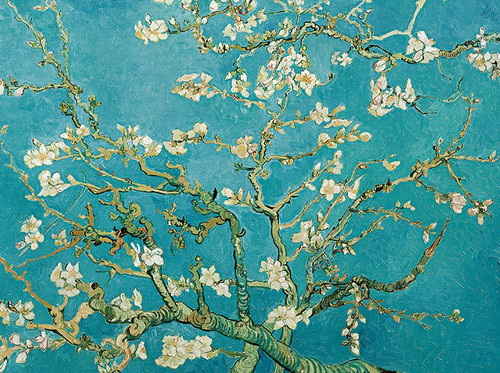 Van Gogh: Almond Blossom Tree - 500pc Jigsaw Puzzle By PuzzleLife