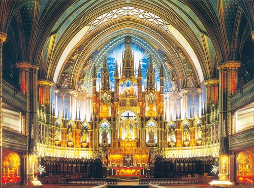 Cathedral Notre Dame - 500pc Jigsaw Puzzle By PuzzleLife