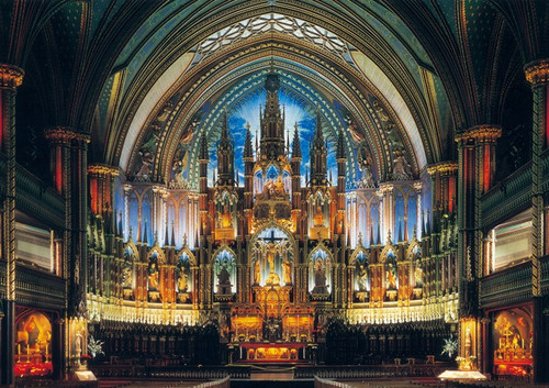 Notre Dame Cathedral - 1000pc Jigsaw Puzzle By PuzzleLife