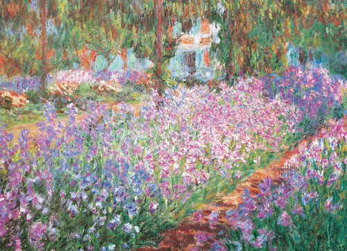 Monet's Garden by Claude Monet - 2000pc Jigsaw Puzzle by Eurographics