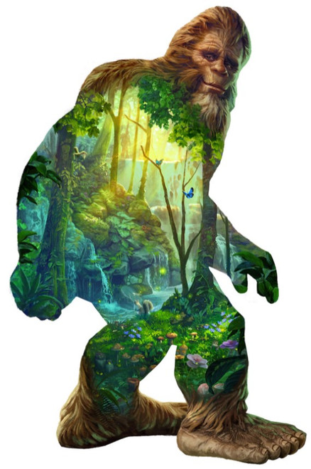 Big Foot - 1000pc Shaped Jigsaw Puzzle By Sunsout