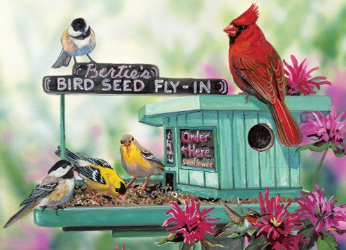 Eurographics Large Format Jigsaw Puzzles - Bertie's Bird Seed Fly
