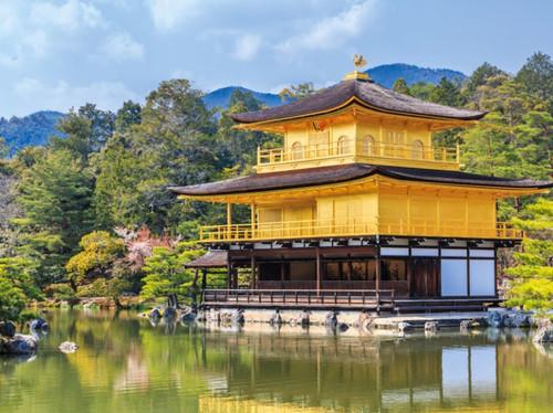 Kinkakuji Temple, Japan - 1000pc Jigsaw Puzzle by Tomax