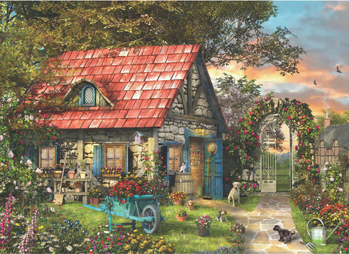 Dominic Davison: The Country Shed - 300pc Jigsaw Puzzle by Eurographics
