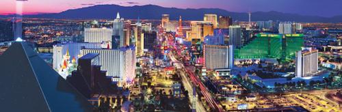 American Vistas: Las Vegas - 1000pc Panoramic Jigsaw Puzzle By Masterpieces