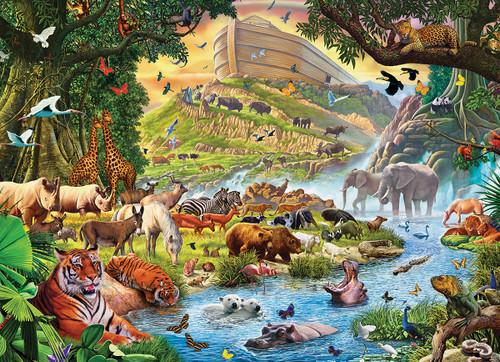 Steve Crisp: Noah's Ark Before the Rain - 300pc Jigsaw Puzzle by Eurographics