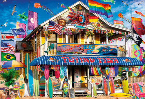 Surf Shack - 2000pc Jigsaw Puzzle by Buffalo Games