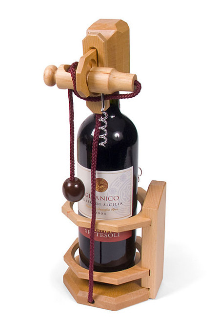 Brain Teasers - Don't Break the Bottle (Corkscrew)
