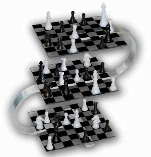Strato Chess Set