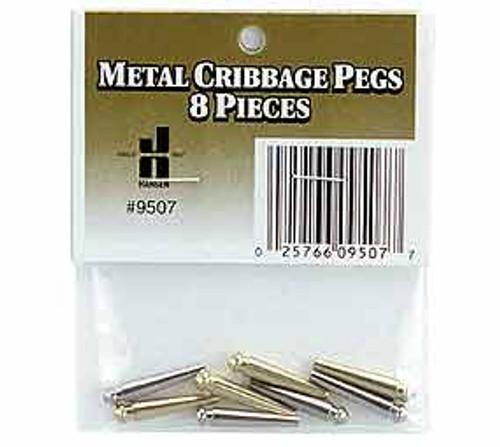Metal Cribbage Pegs