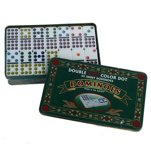 Games - Double 9 Domino in Tin