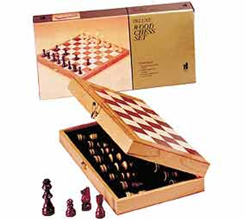 """Game Sets - Chess in a Box with 15"""" Board"""