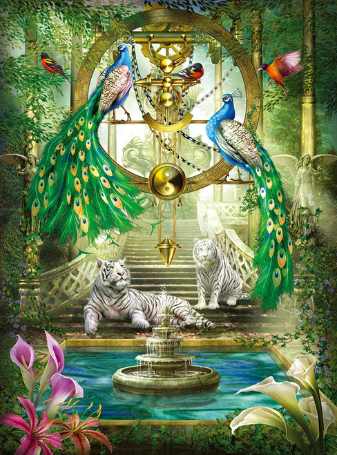 Mystic Garden - Holographic - 1000pc Jigsaw Puzzle by Lafayette Puzzle Factory