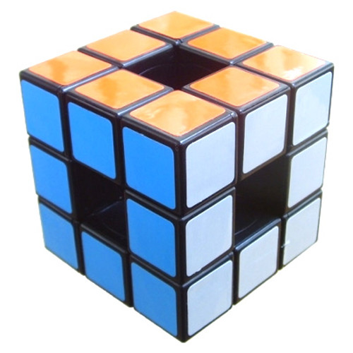 Puzzle Cubes - Hollow Cube, aka Void Cube (Black)