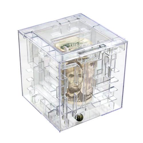Money Maze Puzzle Cube