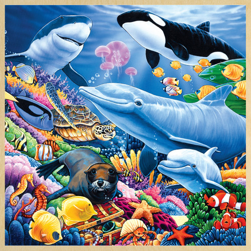 Undersea Friends - 48pc Jigsaw Puzzle by Masterpieces