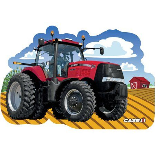 John Deere: CaseIH - 36pc Shaped Floor Jigsaw Puzzle by Masterpieces