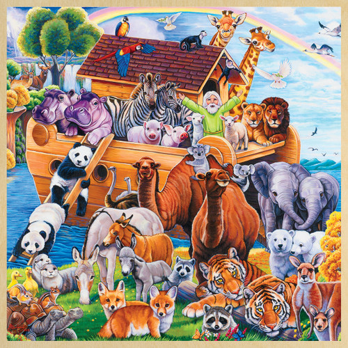 Noah's Ark - 48pc Jigsaw Puzzle by Masterpieces