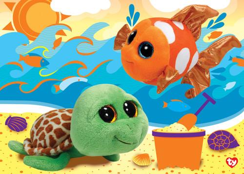 TY: Beach Buddies - 48pc Jigsaw Puzzle by Masterpieces