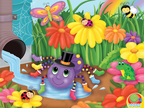 Sing a Long: Itsy Bitsy Spider - 24pc Sound Puzzle by Masterpieces