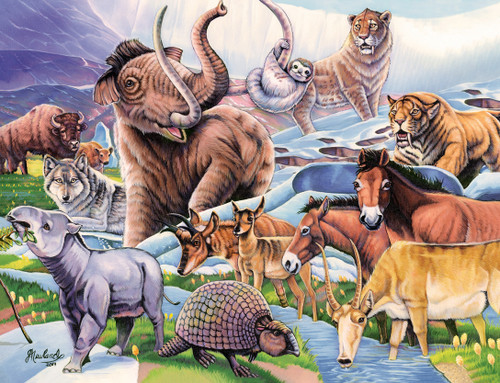Animal Planet: Ice Age Friends - 100pc Jigsaw Puzzle by Masterpieces