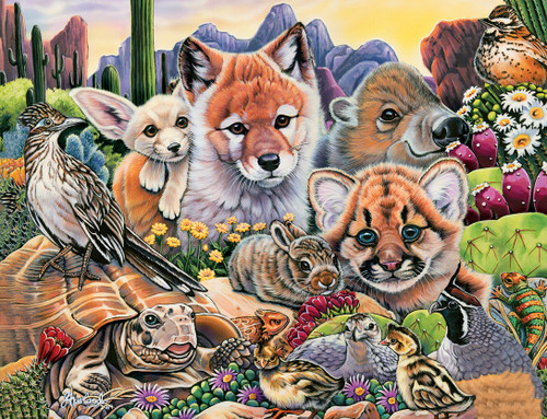 Animal Planet: Desert Friends - 100pc Jigsaw Puzzle by Masterpieces