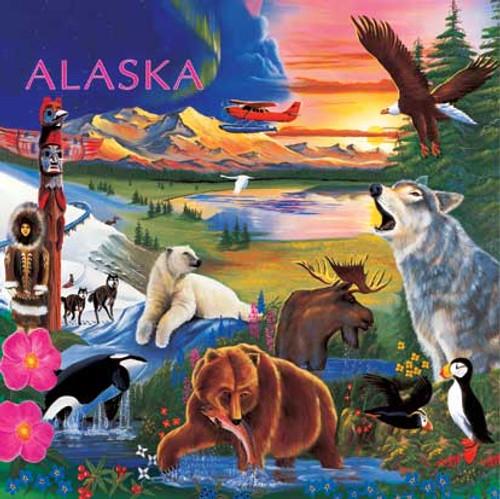 Children's Puzzles - Alaska Wildlife