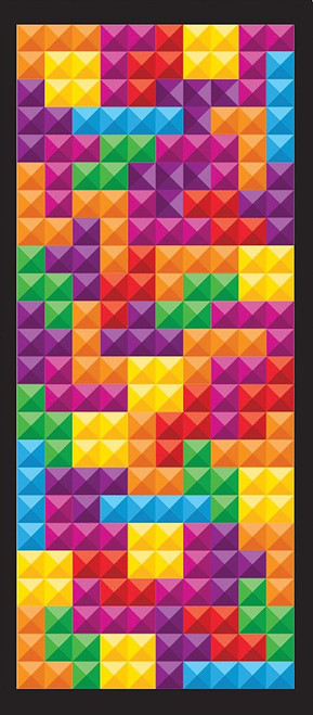 Tetris® Tetrimino Tangle - 108 piece Jigsaw Puzzle By Masterpieces
