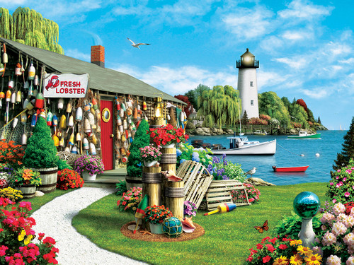Masterpieces Lobster Bay Jigsaw Puzzle