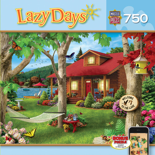 Masterpieces Lakeside Retreat JIgsaw Puzzle
