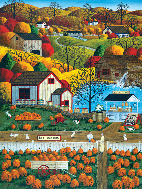 Town & Country: Autumn Morning - 300pc EZ Grip Jigsaw Puzzle by Masterpieces