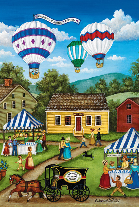 World's Smallest: Blueberry Festival - 1000pc Jigsaw in a Tin Puzzle by Masterpieces