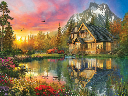 Reflections: Breath of Fresh Air - 750pc Jigsaw Puzzle by Masterpieces