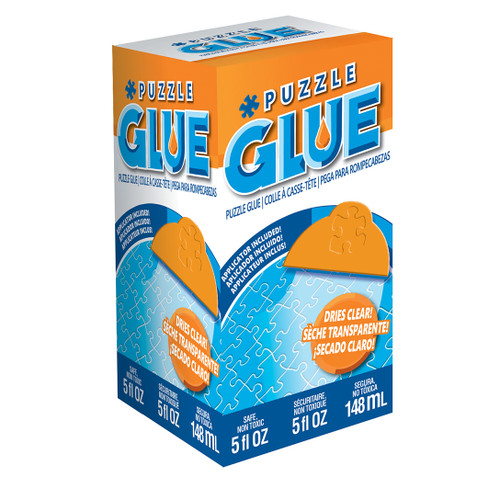 5oz Glue with Applicator - Puzzle Accessory By Masterpieces