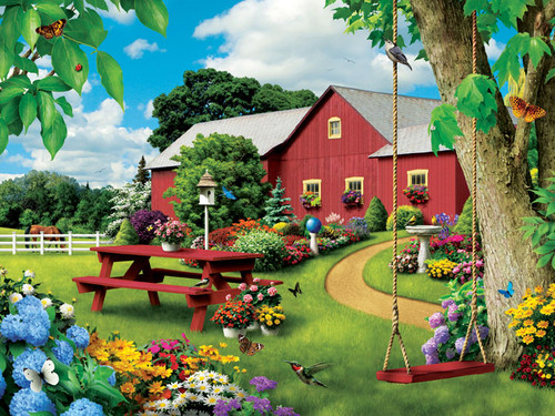 Jigsaw Puzzles - Picnic Paradise