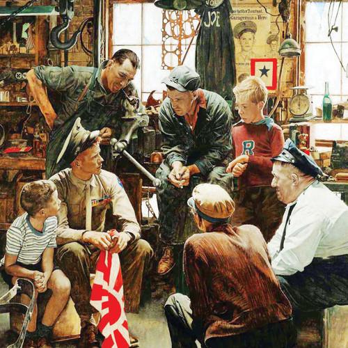 Jigsaw Puzzles - Homecoming Marine