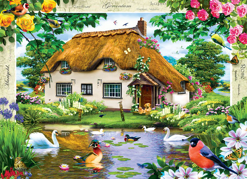 Jigsaw Puzzles - Swan Cottage