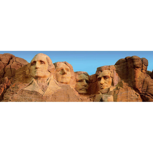Mount Rushmore - 1000pc Panoramic Jigsaw Puzzle By Masterpieces