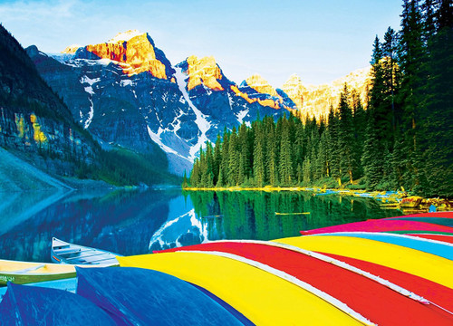 Brilliance: Calm Colors - 1000pc Jigsaw Puzzle by MasterPieces
