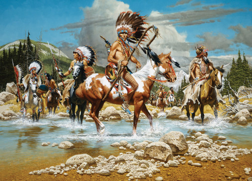 The Chiefs - 1000pc Jigsaw Puzzle by Masterpieces